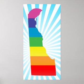 delaware pride. poster