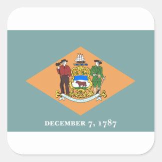 Delaware Square Sticker