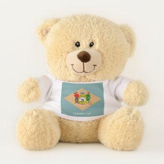 Delaware State Flag Teddy Bear