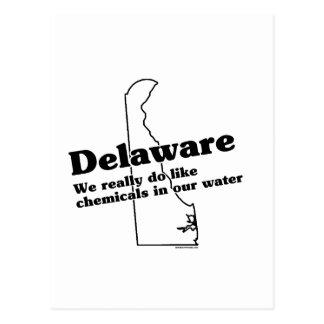 Delaware State Slogan Postcard