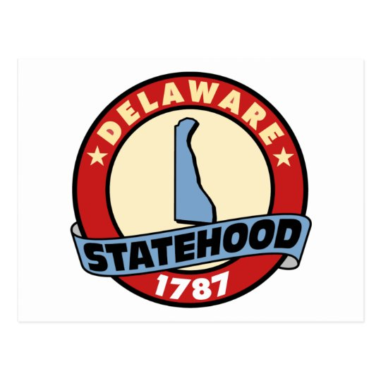 Delaware Statehood Gifts and Tees Postcard