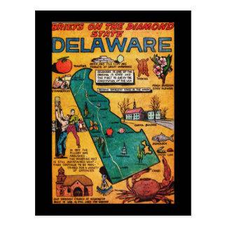 Delaware the Diamond State Postcard