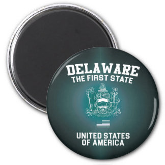 Delaware The First State Magnet