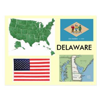 Delaware, USA Postcard