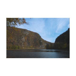 Delaware Water Gap Natl. Recreation Area Canvas Print