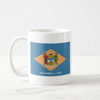 Delawarean Flag + Map Mug