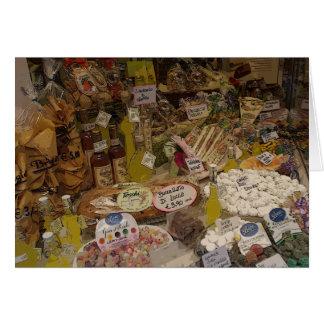 Delectable Edibles, Lucca, Italy Card