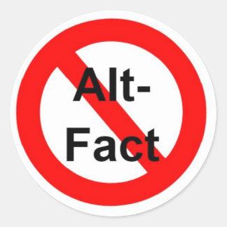 Delete Alternative Fact Sticker