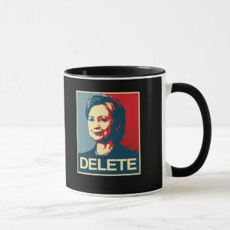 DELETE - Anti-Hillary Poster - - Anti-Hillary -.pn Mug