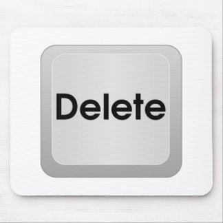 Delete Computer Key Mouse Pad