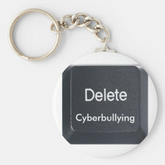 Delete Cyberbullying Keychain