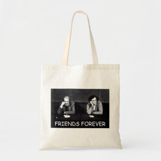 Deleuze and Guattari Friends Forever Tote