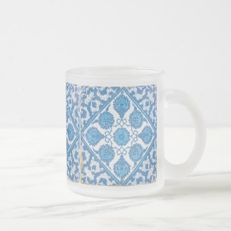 Delft Blue and White Cornflower Coffee Mug