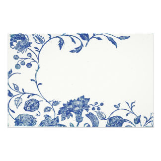 Delft Blue Stationery