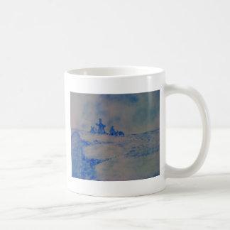 Delft-type scene coffee mug