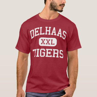 Delhaas - Tigers - High - Bristol Pennsylvania T-Shirt