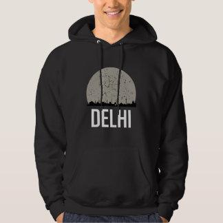 Delhi Full Moon Skyline Hoodie