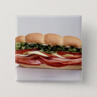 Deli sandwich 2 inch square button