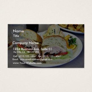 Deli Sandwiches Business Card