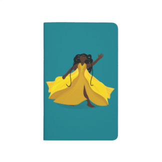 Delia in a Yellow Dress Journal