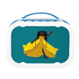 Delia in a Yellow Dress Lunchbox
