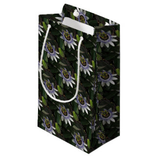 Delicate and Beautiful Passiflora Flower Small Gift Bag