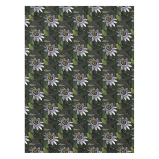 Delicate and Beautiful Passiflora Flower Tablecloth