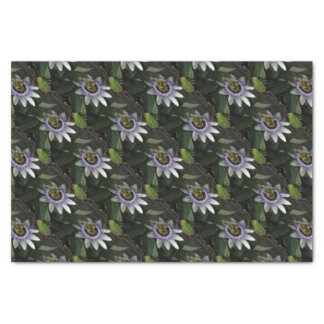 Delicate and Beautiful Passiflora Flower Tissue Paper