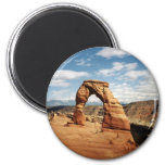 Delicate Arch, Arches National Park, Utah 2 Inch Round Magnet