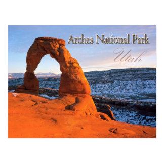 Delicate Arch, Arches National Park, Utah Postcard