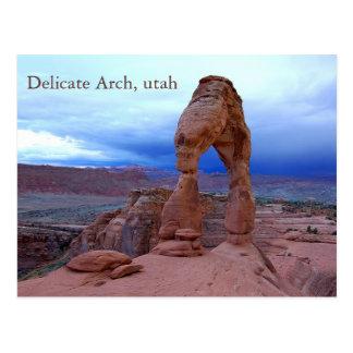 delicate arch, Delicate Arch, utah Postcard