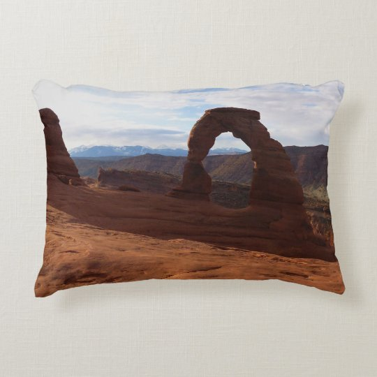 Delicate Arch I at Arches National Park Accent Pillow