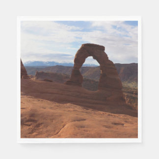 Delicate Arch I at Arches National Park Paper Napkin
