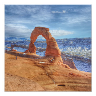 Delicate arch in Utah Arches National Park Photo Print