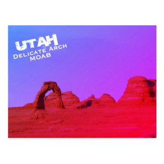 Delicate Arch, Moab, Utah, Arches National Park Postcard