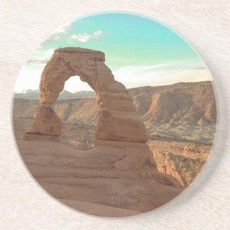 Delicate Arch Sandstone Coaster