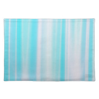 Delicate Blue Striped Placemat