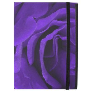 "Delicate bright purple roses floral photo iPad pro 12.9"" case"