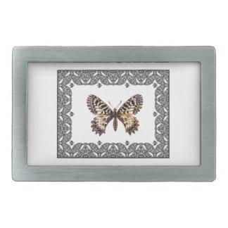 delicate butterfly art belt buckle