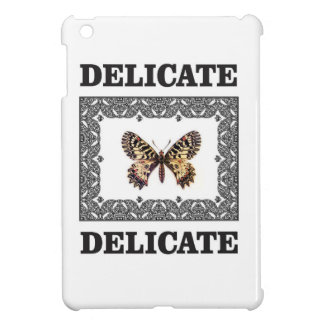 delicate butterfly art case for the iPad mini