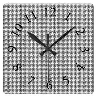 Delicate-Conservative-Grey-Multi-Styles Square Wall Clock
