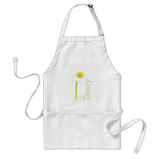Delicate Daisy Customisable Standard Apron