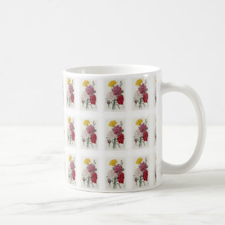 Delicate Dianthus Coffee Mug