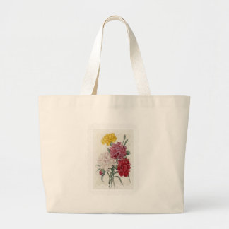 Delicate Dianthus Large Tote Bag