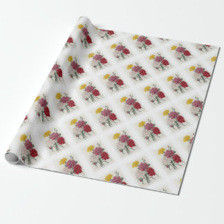 Delicate Dianthus Wrapping Paper