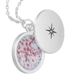 delicate floral 118 locket necklace