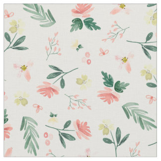 Delicate Floral Fabric
