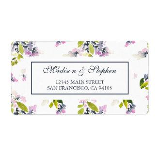 Delicate Floral Watercolor -  Wedding