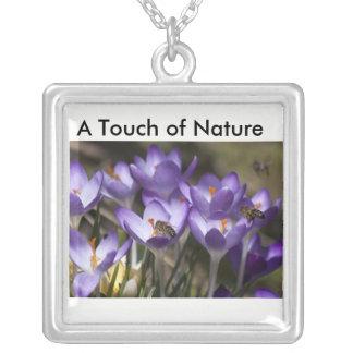Delicate Flower Pendant