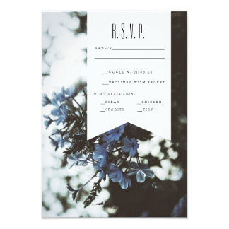 Delicate Flowers | RSVP Card